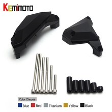 Buy KEMiMOTO MT-07 MT 07 Motorcycle Engine Guard YAMAHA MT07 FZ 07 FZ07 2014-2017 Engine Guard Case Slider Cover Protector Set for $53.09 in AliExpress store