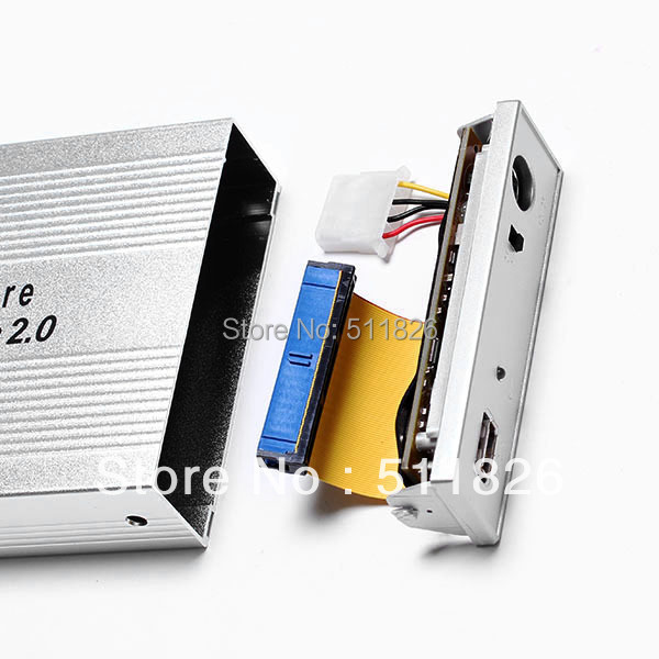 Free shipping   USB 2.0 3.5 IDE HDD HD Hard Disk Drive Enclosure Case //8105