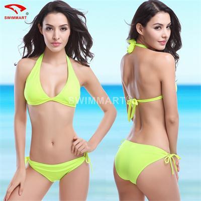 Women's Bandage Push Up Padded Bra Swimwear Fashion Ladies Swimsuit Ladies' Sexy Bikini Set(China (Mainland))