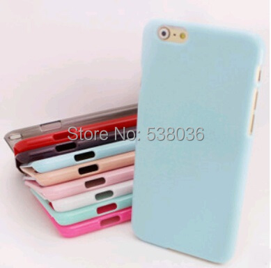 case iphone 6 4.7 mobile phone protective Case TPU back cover pure colorf beautiful Fashion new Item - Android accessories store