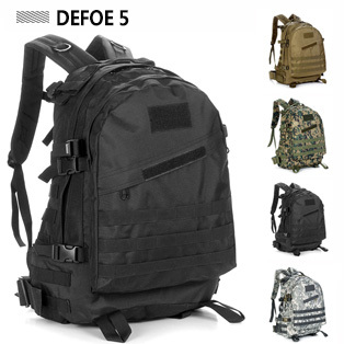 2015 Backpack Men/The Knapsack/Camping Hiking Travel Backpack/Tactical Military//Laptop MOLLE Large Bag - DEFOE 5 Outdoors store