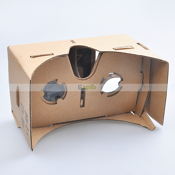"""DIY Google Cardboard Virtual Reality VR Cell Phone 3D Viewing Glasses for 5.0"""" Screen Google VR 3D Glasses(China (Mainland))"""