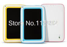 5pcs/lot 7 inch kid tablet Allwinner A23 Dual-Core Android 4.2 children tablet pc WIFI bluetooth dual camera 512MB 8GB