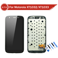 AAA Quality LCD Display Touch Digitizer Screen Assembly With Frame For Motorola MOTO G XT1032 XT1033