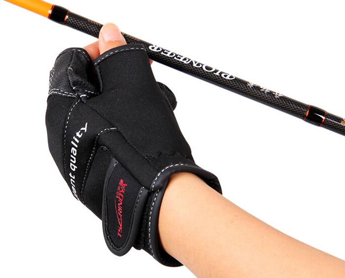 1 trulinoya for Fingerless fishing gloves