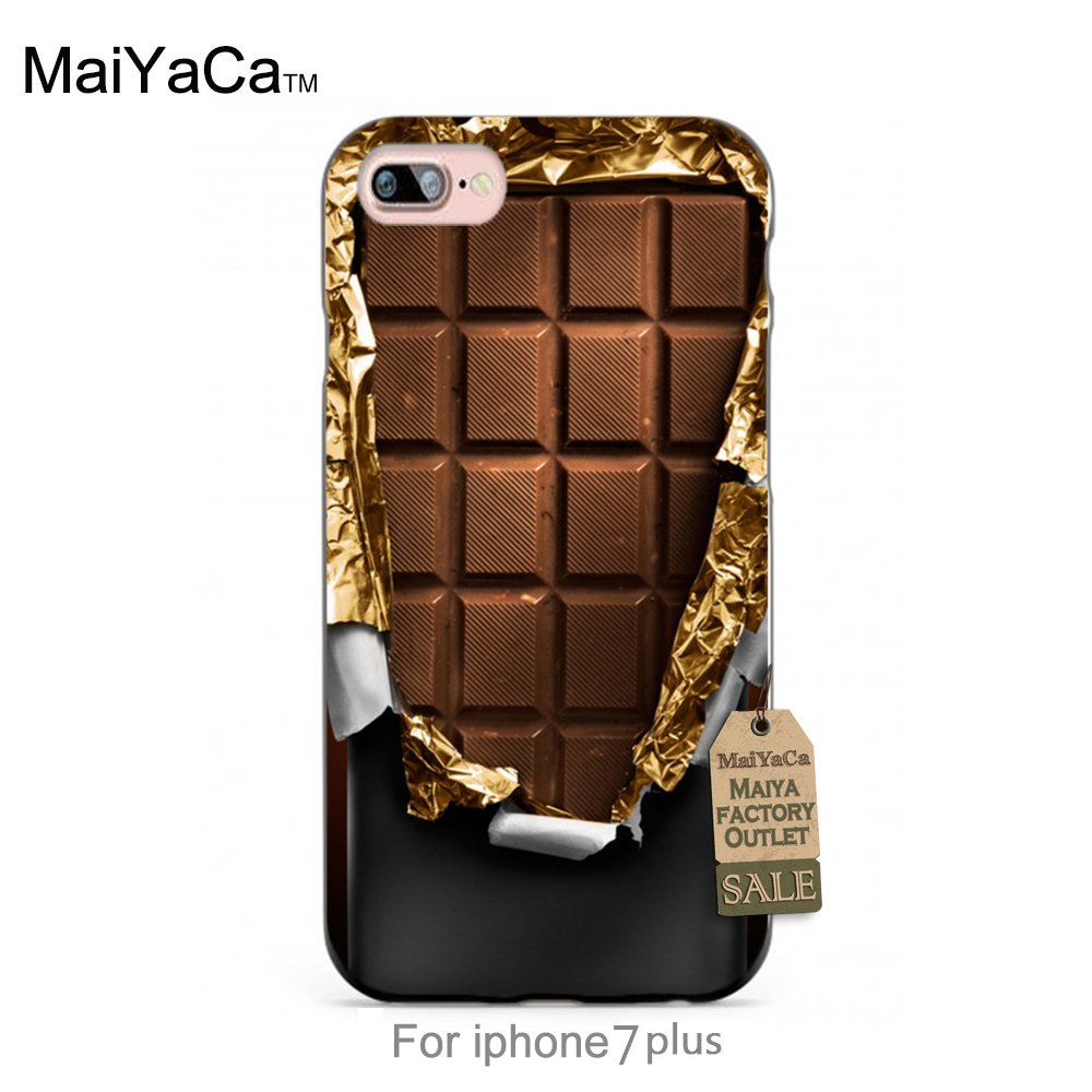 Delicious cover chocolate Classic image paintings cover mobile phone For iPhone 7s plus 7plus case(China (Mainland))