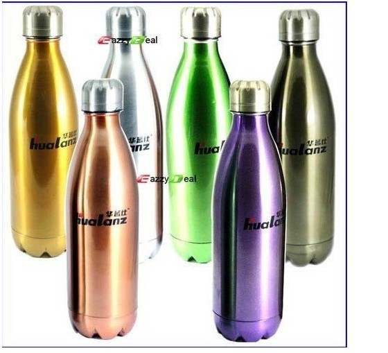 500ML Stainless Steel THERMOS Sports Water Bottle For Bike/Hunt/Camp Store and Carry Hot or Cool Water, Juice or Carbonated Dri