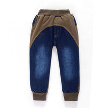 2 8Y Children Jeans Boys Denim trousers Baby Girl Jeans Top Quality Casual pants kids clothing