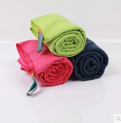 Santo Brand 80*130cm Functional Soft Absorbent Microfiber Beach Bath Towel Travel Gem Quick Dry Towels New Freeshipping(China (Mainland))