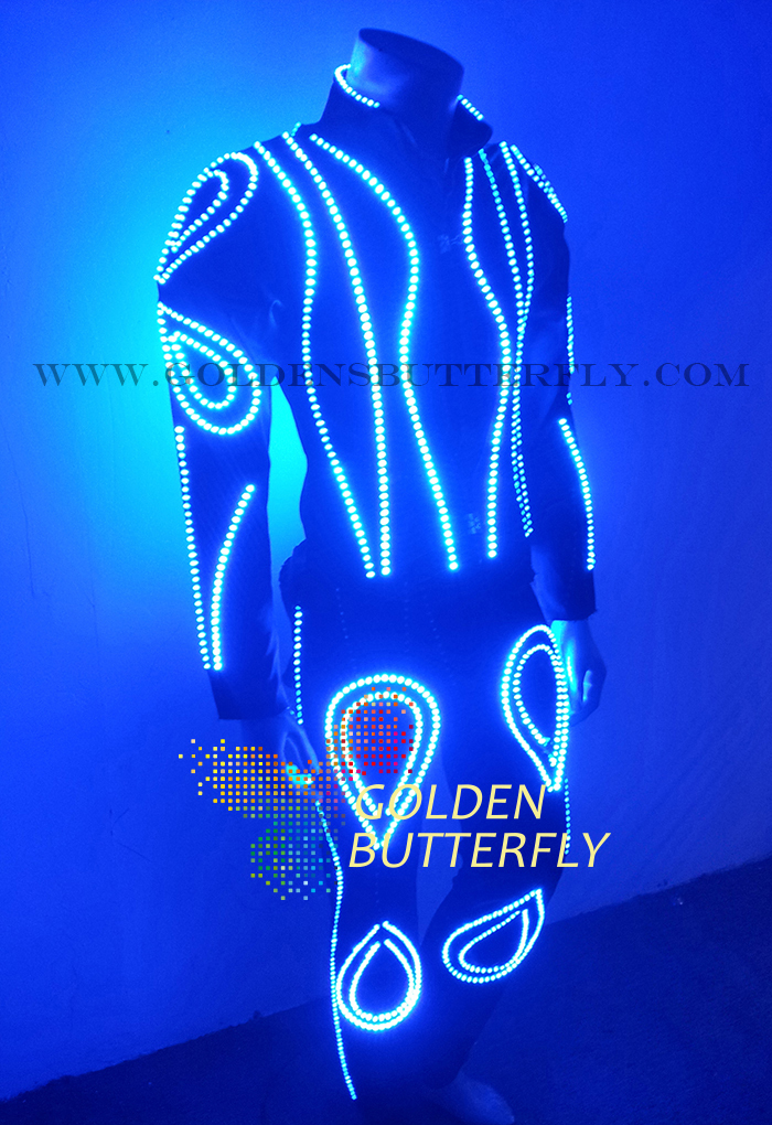 LED Clothes Luminous Clothing Glowing Suits EL Costumes 2015 Hot Fashion Show Men LED Pants Dance Accessories Free ShippingОдежда и ак�е��уары<br><br><br>Aliexpress