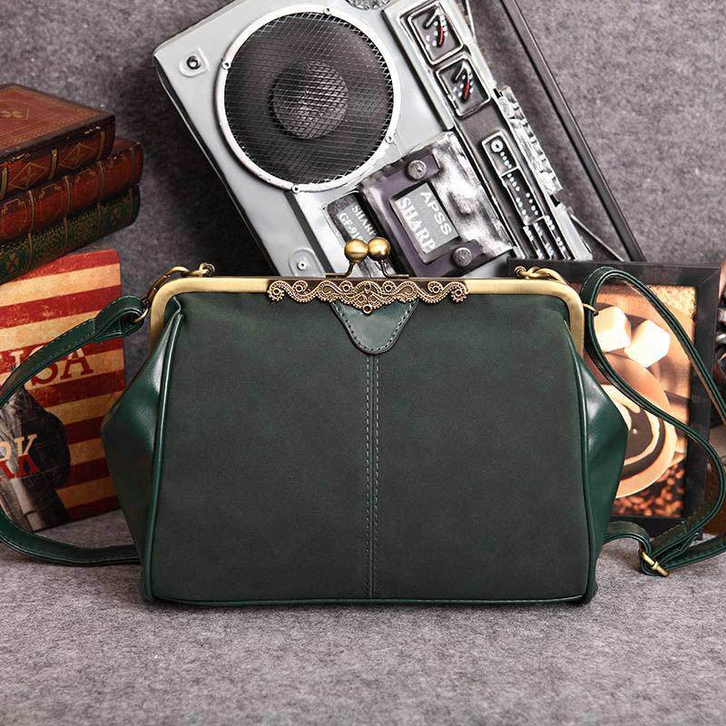 2015 New Arrive Retro Lock Cross Body Women Bags Fashion Vintage Women Messenger Bag Scrub Leather Shoulder Bag(China (Mainland))