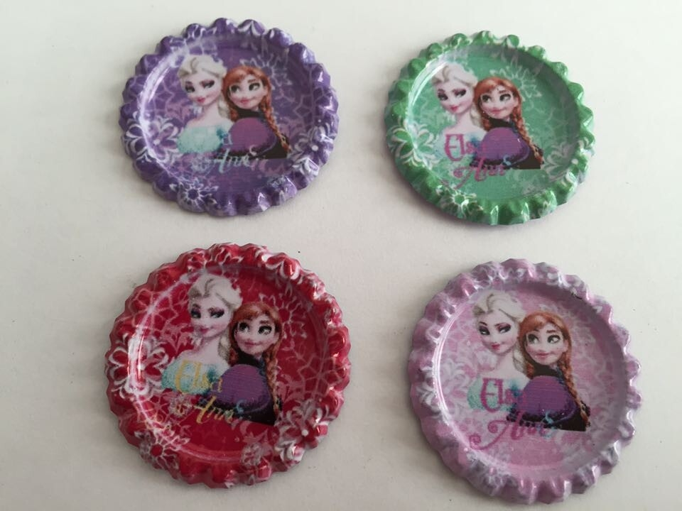 50Y40140 free shipping 33*33mm flattened bottle caps diy hairbow hair bows decoration accessories(China (Mainland))