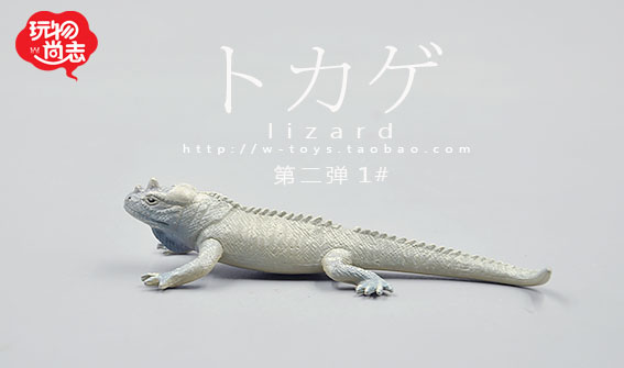 `Animal model toy bulk Japan External Trade authentic ! Animal models reptiles lizards second bomb print collection LU(China (Mainland))