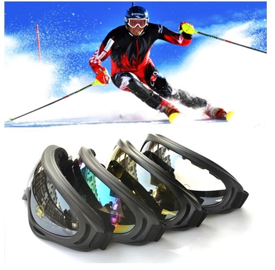 Military Glasses Goggles New UV400 Ski Sun Glasses Sled Snowboarding Sports Skiing Eyewear(China (Mainland))