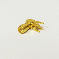 1pc NEW SMA Male Plug RF Coax Connector panel mount solder post Straight Insulator Long 4mm Goldplated  wholesale
