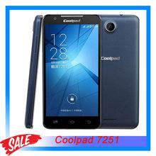 "Original Coolpad 7251 5.0"" 3G Android 4.3 Smartphone MSM8210 Dual Core 1.2GHz RAM 512MB+ROM 4GB Dual SIM WCDMA & GSM"