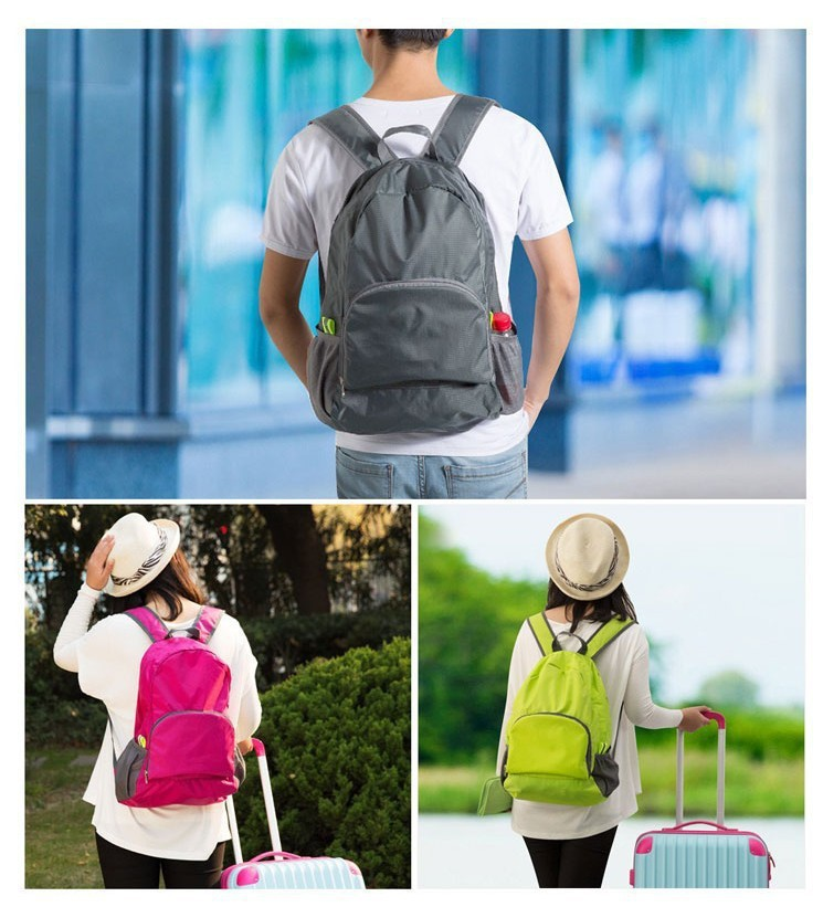 2015 NEW Fashion Travel Kit waterproof Portable Foldable backpack Storage Pouch design shoulder bags - romantic house store