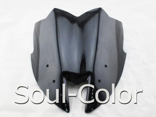 smoke Motorcycle Windshield WindScreen new style ermax kawasaki z800 2012 2013 2014 2015 Double Bubble - Soul-Color store