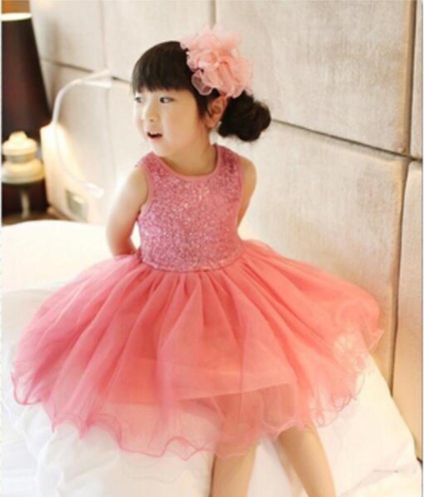 High Quality Girl Dress Girls Dresses Sequin Baby Girl Clothes Princess Tutu Children's Dresses Kids Clothes,Vestidos Infantis(China (Mainland))