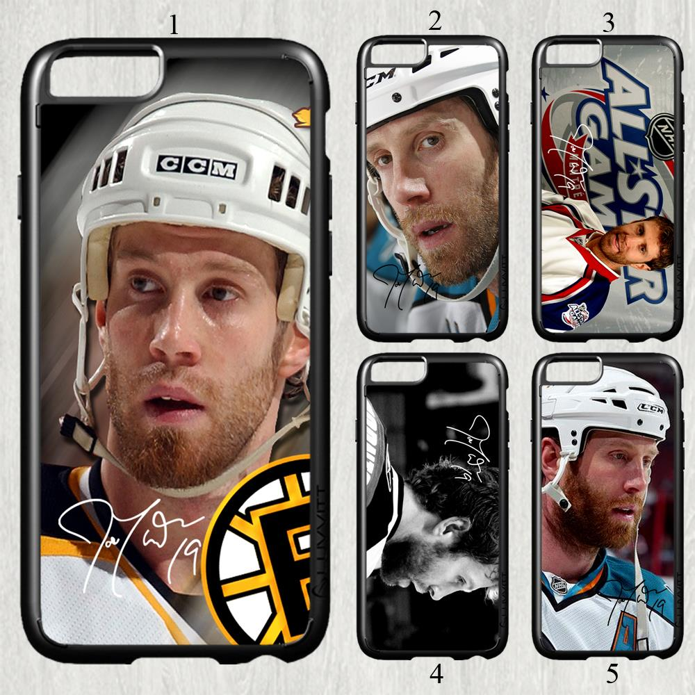 Joe Thornton signed NHL star fashion original cell phone case cover for iphone 6 (4.7 inch) protection back cover(China (Mainland))