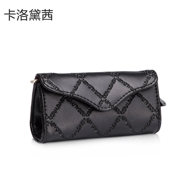 Wallets  New  2013  Mini  Wallet   Diamond-shaped Texture Letter  Purse  Leather  Wallet  For  Girls