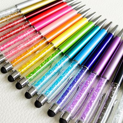 [YMLP] Boxed Crystal Diamond Pieces Pen Gel Pen Office Pen Korea School Supplies Stationery Cute Kawaii Special Offer 1Pcs