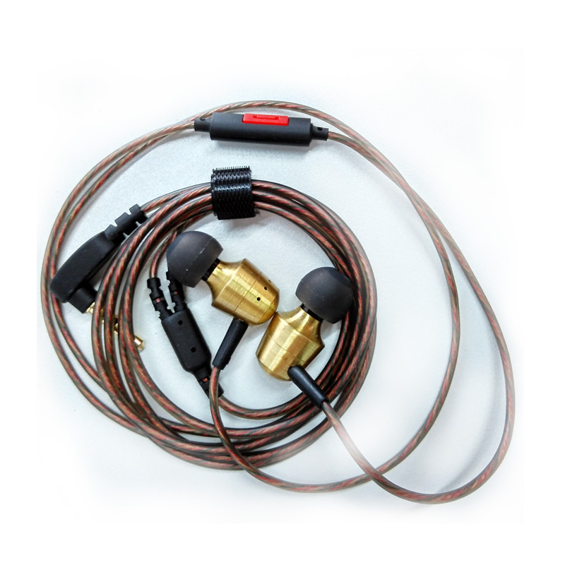 KZ GR Metal Retro Copper Gold Earphones Tunning Nozzles Dual Musical Styles Stereo Bass Noise Isolating HiFi Bests Studio Earbud(China (Mainland))