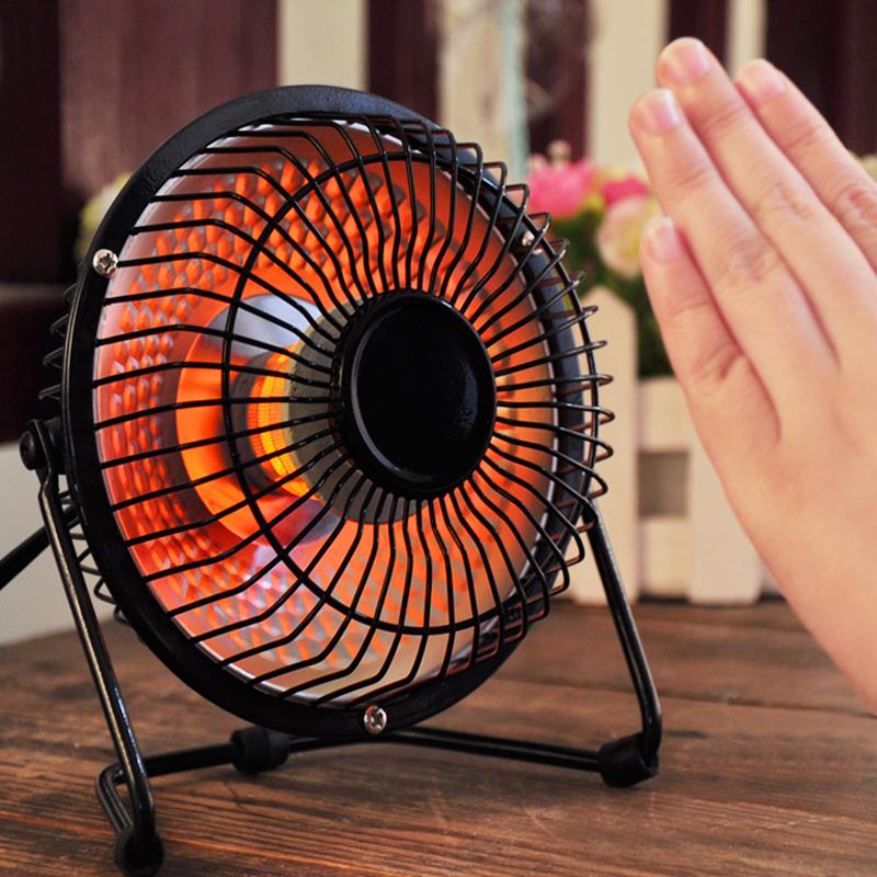 Winter Warm Mini Portable Space Heater Electronic Fan