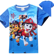 Boys Summer Dogs Cartoon T Shirt Tops Tee Children Clothing Baby Boys T-Shirts Girls T Shirt Enfant Fille
