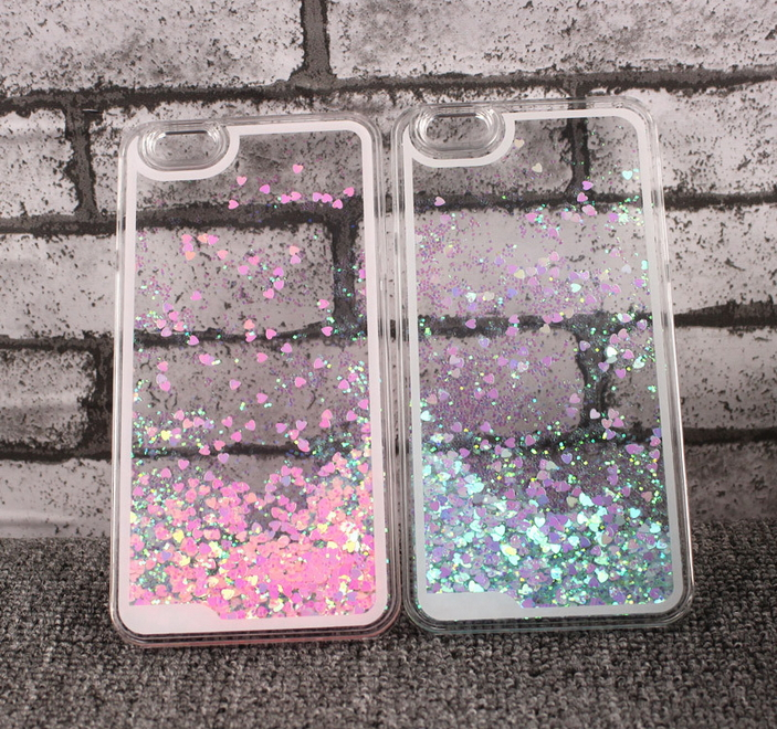Newest Super Cute Romantic Love Bling Star Quicksand Glitter Funda Cases Cover For Coque Iphone 4 4s Cell Phone Case Capa Para(China (Mainland))