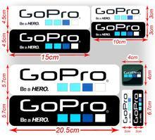Top Selling Wholesales/retalils 9Pcs/Lot GoPro Hero 4 Icon Sticker Set Go Pro Logo Accessories Consumer Electronics  Stickers