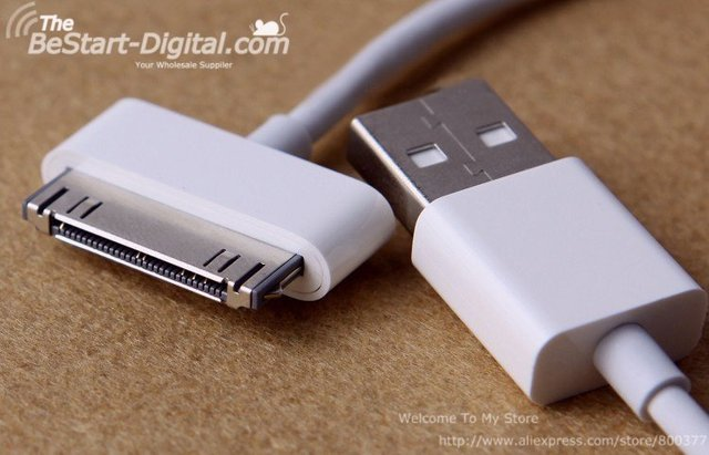 Free Shipping, New Arrival, Original Date Sync USB Cable for IPhone 4 cable, date cable