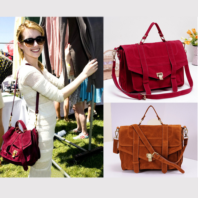 2014 New Women Scrubs Faux Leather Vintage Women Messenger bags