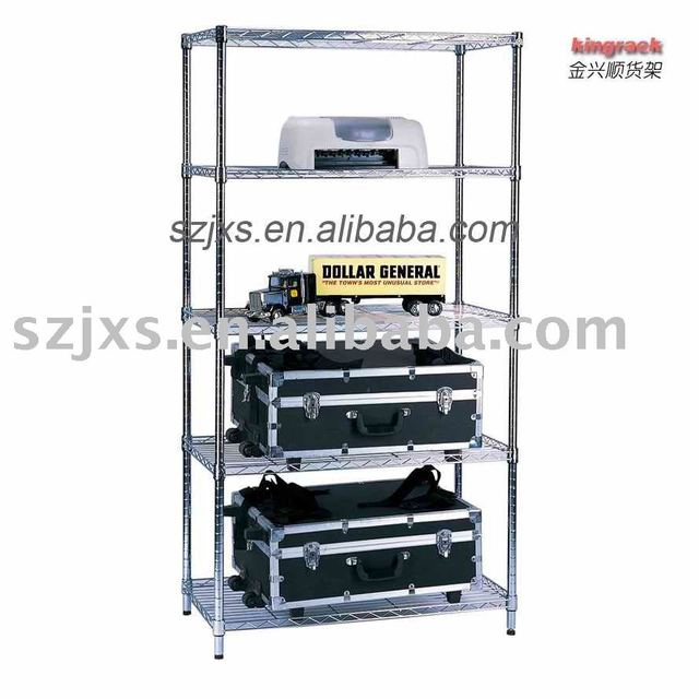 2011 top sale Wholesale & resale chrome plated durable wire shelving home furniture