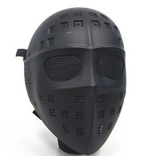 Full Face Hockey Type Airsoft Mesh Goggle Mask