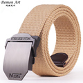 2016 New Arrival Men s Canvas Belt NO5 Buckle Military Belt Army Tactical Belts for Male