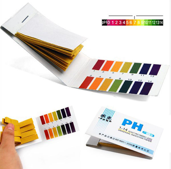 New PH Meters 2015 Hot Sale PH 1 14 Litmus Paper test