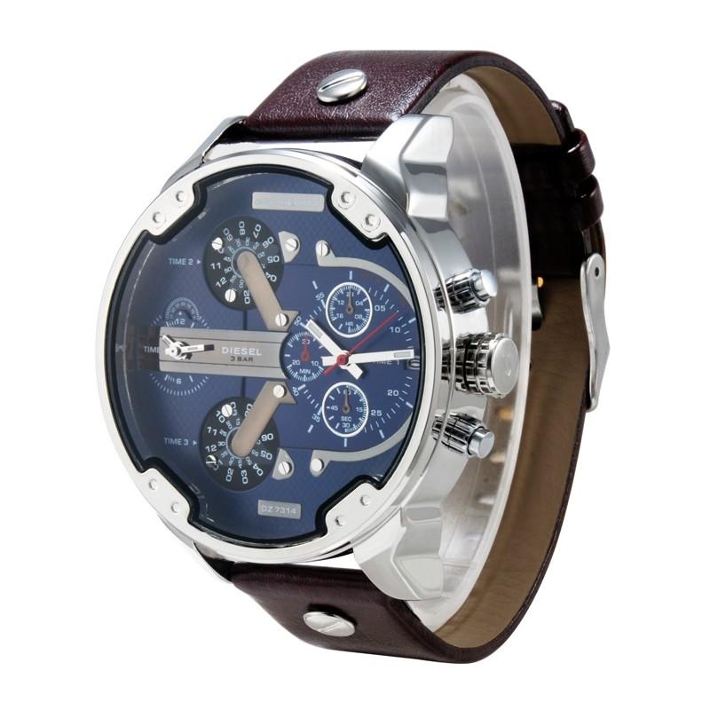 b854bf70157 Relógio Dz7314 Masculino Estilo Militar Marca De Luxo Importado