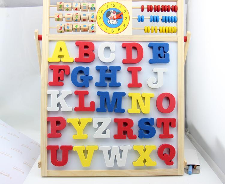 Capital Alphabet Letter Whiteboard Fridge Magnets EVA Magnetic Refrigerator Stickers for kids(China (Mainland))