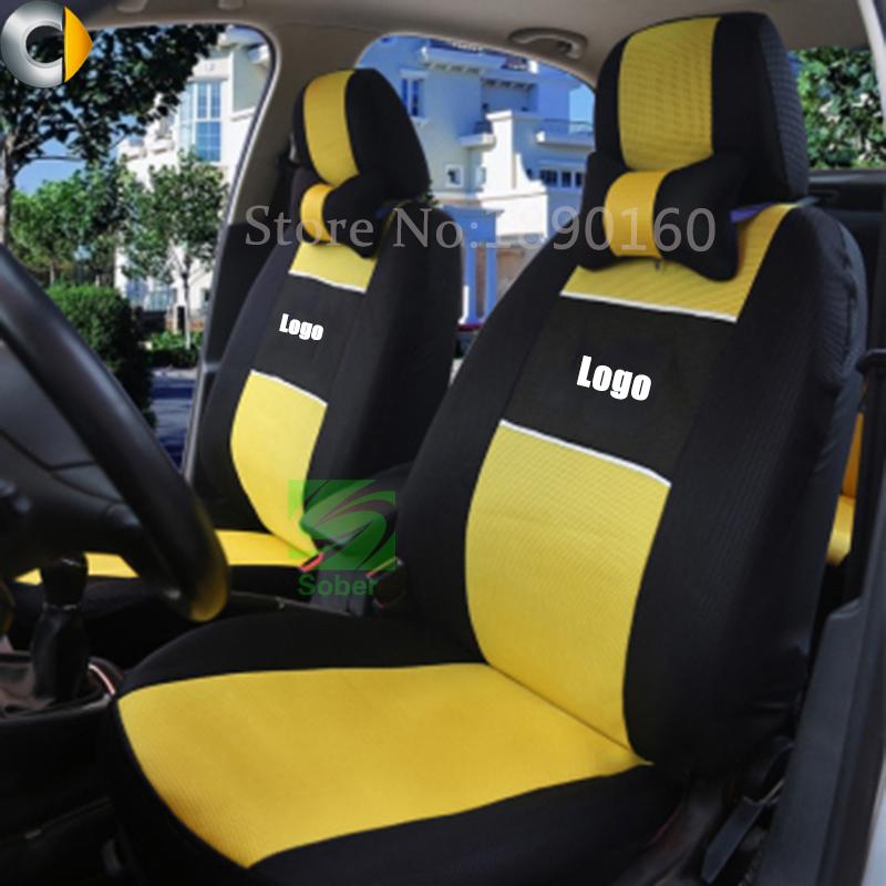universal car seat cover for smart fortwo forfour forjeremy black beige gray red blue car. Black Bedroom Furniture Sets. Home Design Ideas
