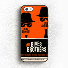 The Blues Brothers Classic Movie Poster Printed Mobile Phone Case For iPhone 6 6S Plus 5 5S 5C SE 4 4S Soft TPU Back Shell Cover