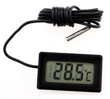 Hot New Kostenloser Versand termómetro Digital Wasserschwarz sensor de temperatura humididy medidor probador psicrómetro higrómetro
