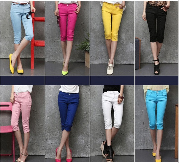 Aliexpress.com : Buy Women Pants Capris 2015 Summer Plus Size ...