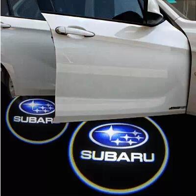 LED Laser Logo Light LED Door Warning Light Subaru BRZ Subaru XV Tribeca Forester Legacy Outback Impreza Welcome Light