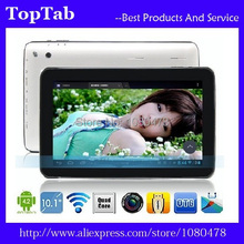 DHL Free Shipping  50pcs/lot 10.1''ATM7029 Quad Core Android 4.4.2 1G/16G HDMI Bluetooth WIFI tablet pc(China (Mainland))