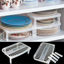 Hot Sale Great Under Sink Shelf Sink In Plate Dish Organizer Holder Shelf Kitchen Storage Free Shipping(China (Mainland))