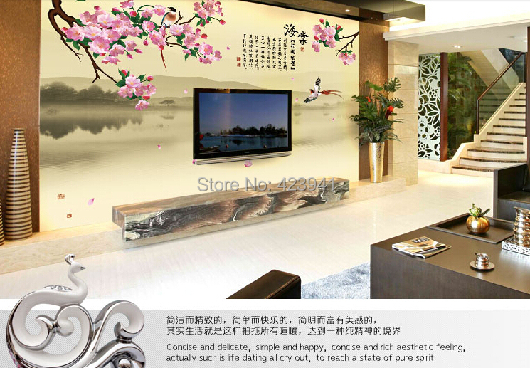 3293 can be customized 3d visual space home decoration for Decoration cost per m2