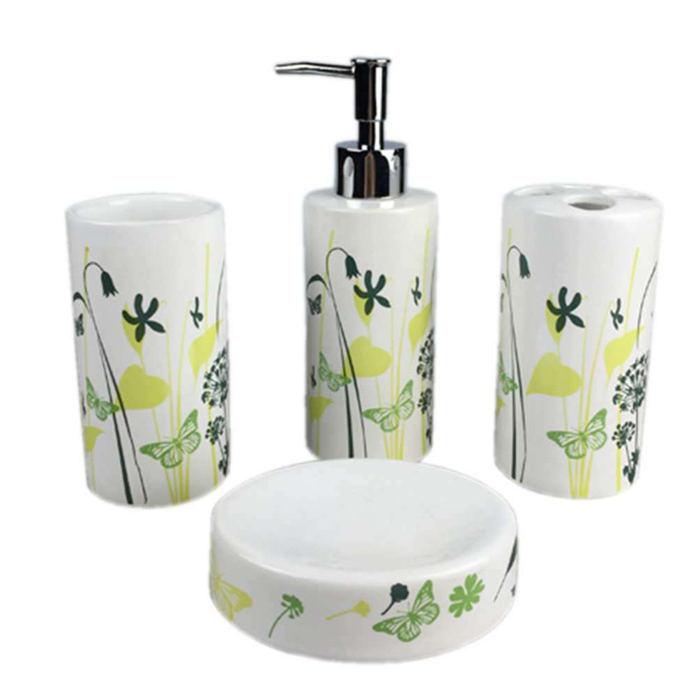 Hot sale bathroom toilet set toothbrush holder cup soap for Bathroom accessories sale