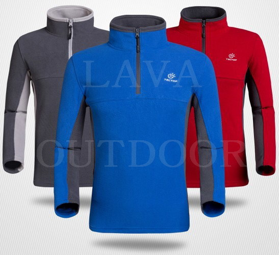 Low Price Free Ship Thermal Insulation Breathable WindProof Anti-Static Ultra-Light Men's Winter Sports Fleece Slip-On Jacket(China (Mainland))
