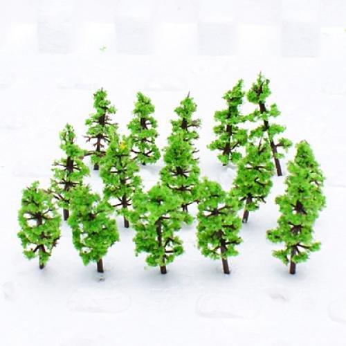 Model Fir Tree Train Set Plastic Trunks Scenery Landscape N Z - 100PCS, IN STOCK, Nice Gift(China (Mainland))